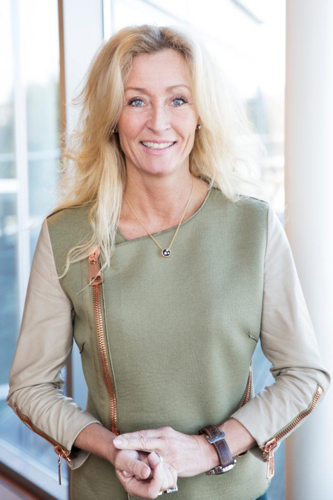 Bildet viser styreleder i Eiendom Norge